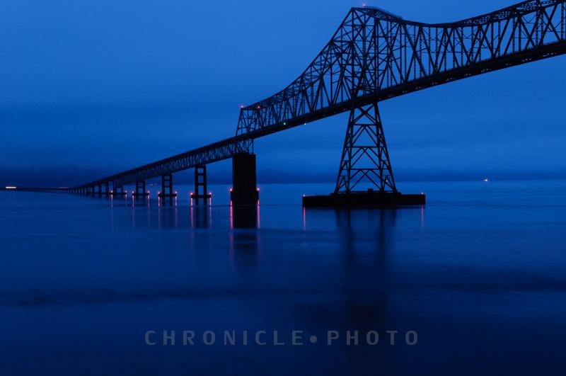 Twilight, Astoria-Megler Bridge, 2011