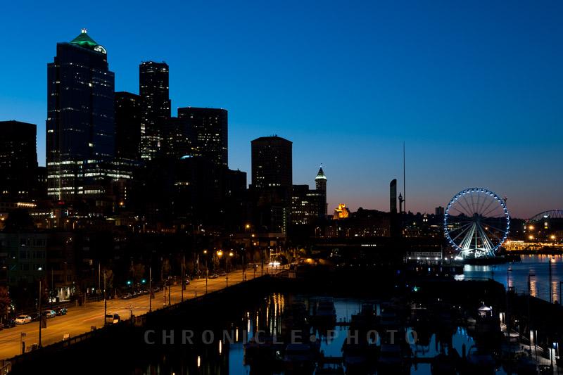 Sunrise, Pier 66, 2012