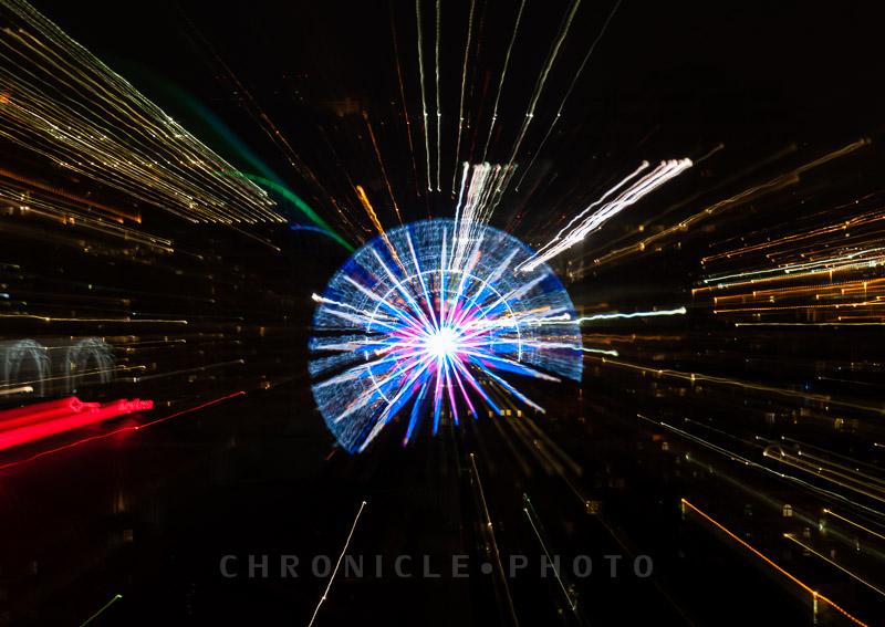 Exploding Wheel, II, 2013